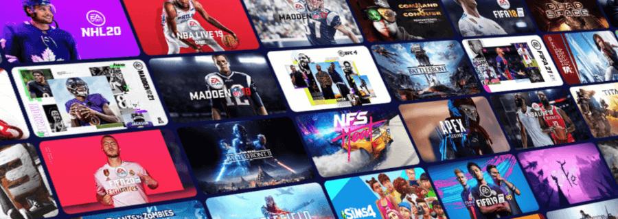 Ukázka her ze členství EA Play.