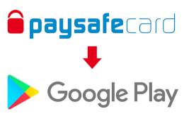 Logo paysafecard a Google Play