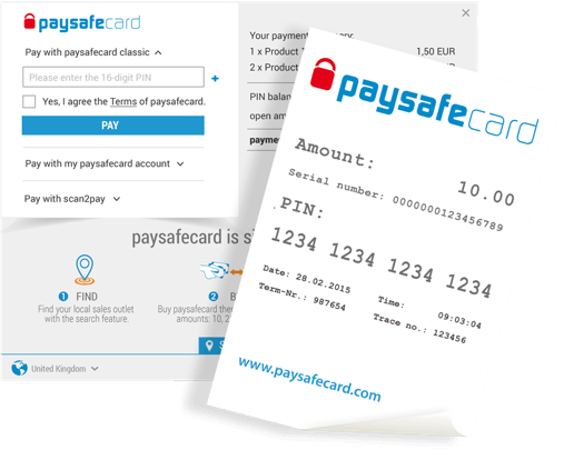 paysafecard platba