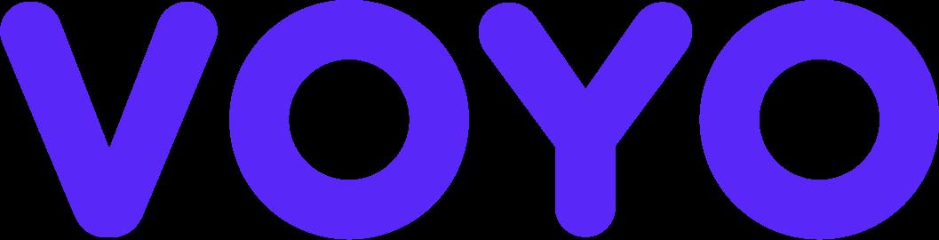 Logo streamovací služby VOYO.