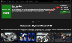 Měsíční Xbox Live Gold koupíte oficiálně jedině v Xbox Store.