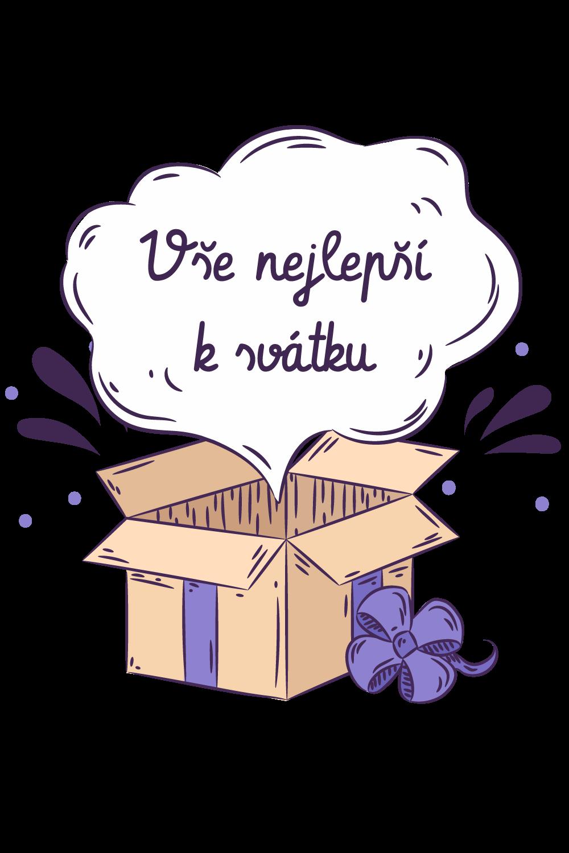 Vše nejlepší k svátku v krabici