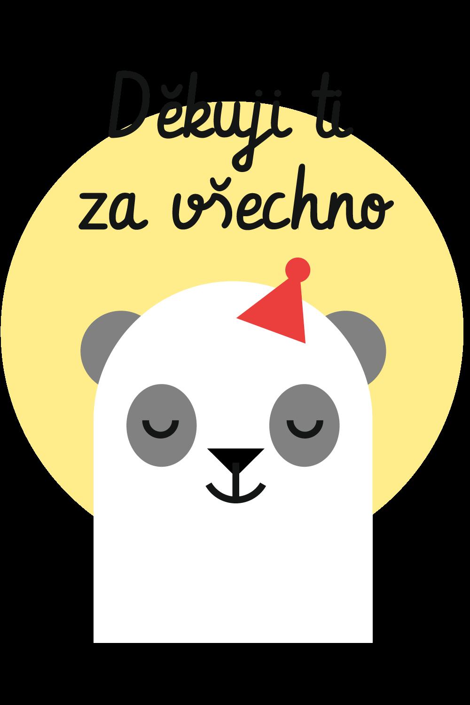 Děkuji ti za všechno s pandou