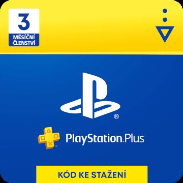 PlayStation Plus 3 měsíce