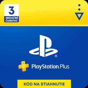 PlayStation Plus 3 mesiace