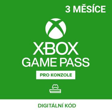 Xbox Game Pass 3 měsíce
