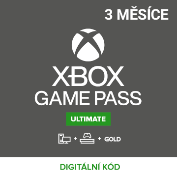 Xbox Game Pass Ultimate 3 měsíce