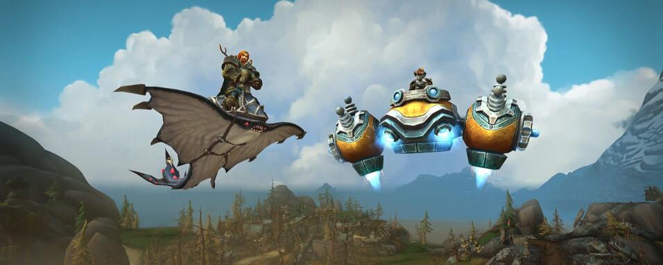 Létající mounti ve World Of Warcraft