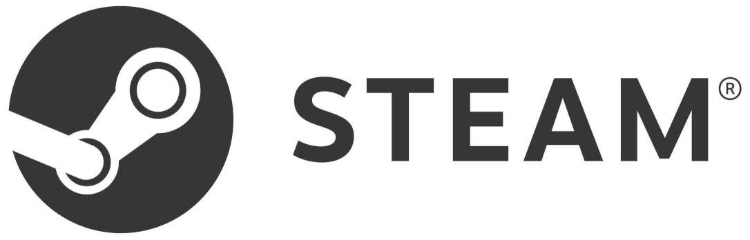Logo služby Steam.
