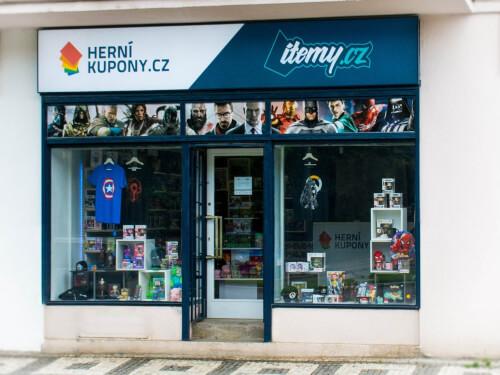 prodejna Herní-kupony.cz a Itemy.cz