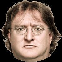 Zakladatel Steamu Gabe Newell.